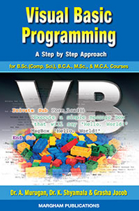 Visual Basic Programming - Dr. A. Murugan, Dr. K. Shyamala & Grasha Jacob