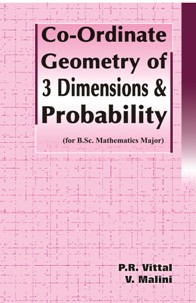 Co-ordinate Geometry of 3 Dimensions & Probability - P.R.Vittal & V.Malini