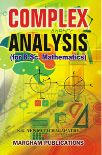 Complex Analysis - B.Sc - S.G. Venkatachalapathy