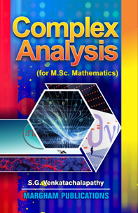 Complex Analysis - M.Sc - S.G. Venkatachalapathy