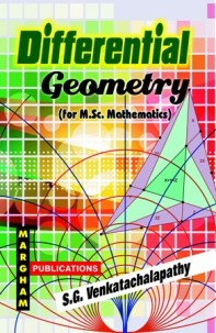 Differential Geometry - S.G. Venkatachalapathy