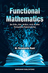 Functional Mathematics - M. Sreenivasan