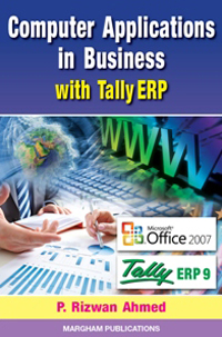 Computer Applications in Business with Tally ERP 9 - Dr. P. Rizwan Ahmed