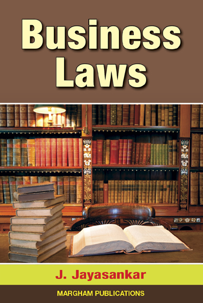 Business Laws - J. Jayasankar