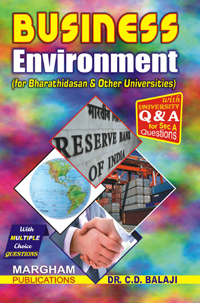 Business Environment (bhar) (CDB) - Dr. C. D. Balaji