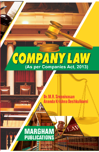 Company law (As Per Companies Act, 2013) - Dr. M.R. Sreenivasan