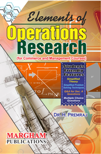 Elements of Operations Research - Dr. H. Premraj