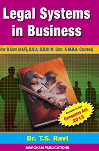 Legal System in Business - T.S. Ravi