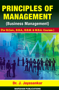 Principles of Management - J. Jayasankar