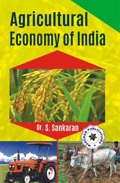 Agricultural Economy of India - S.Sankaran