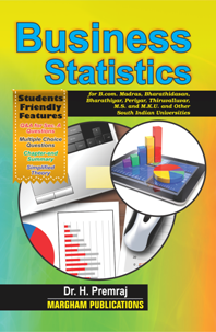 Business Statistics (With Students Friendly Features) - Dr  H  Premraj